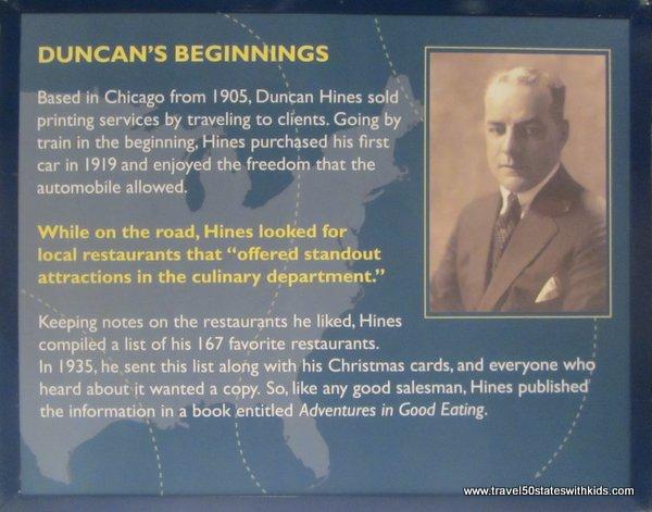Duncan Hines exhibit at Kentucky Museum