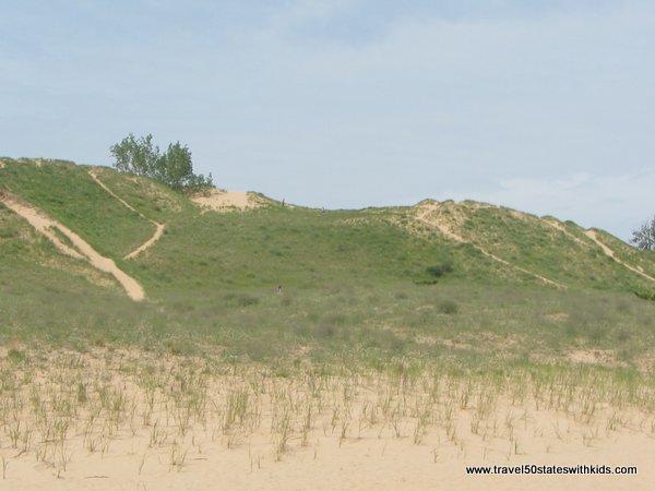 Dune Climb - Kids love it