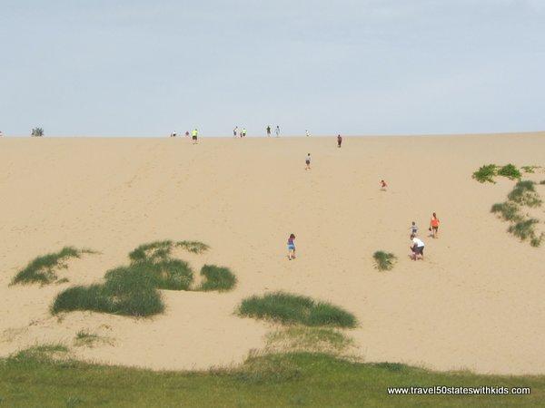 Dune Climb at Sleeping Bear Dunes