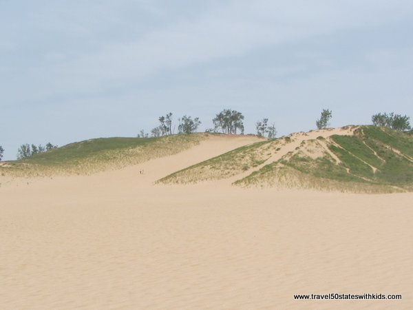 Dune Climb - keep going or turn around