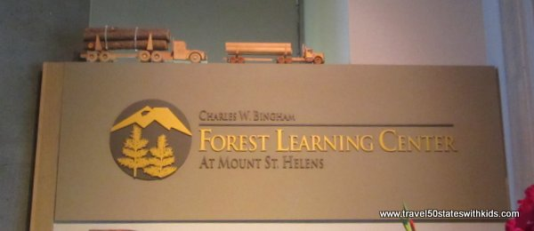 Forest Learning Center at Mount St. Helens