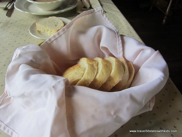 Freshly Baked Bread at Amish Acres