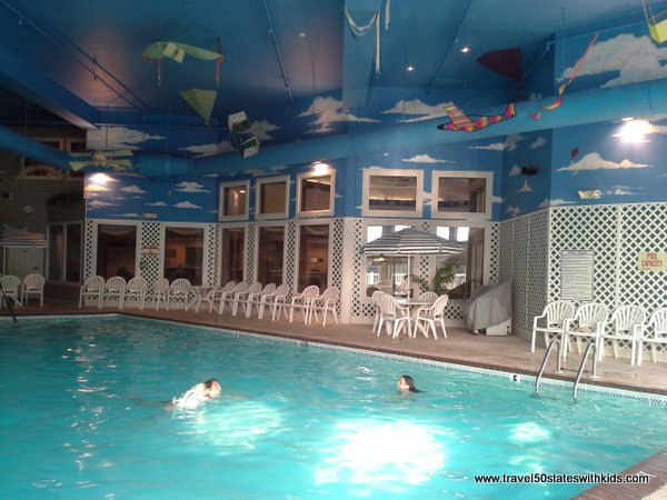 Indoor Pool at Bayshore Resort Traverse City