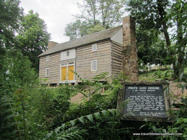Kentucky Museum Log House