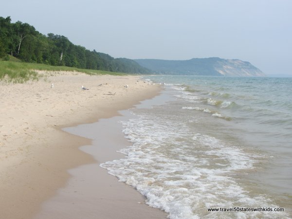 Lake Michigan near North Bar Lake