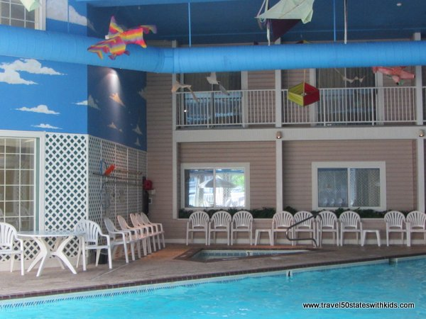 Pool and Hot Tub at Bayshore Resort Traverse City