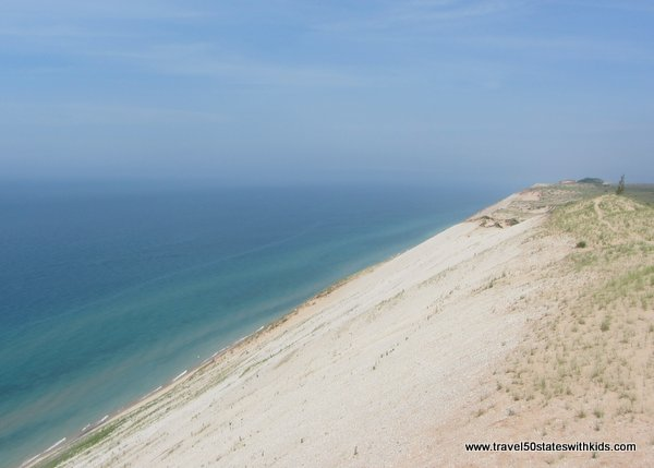 Sleeping Bear Dunes - view from Lake Michigan Overlook