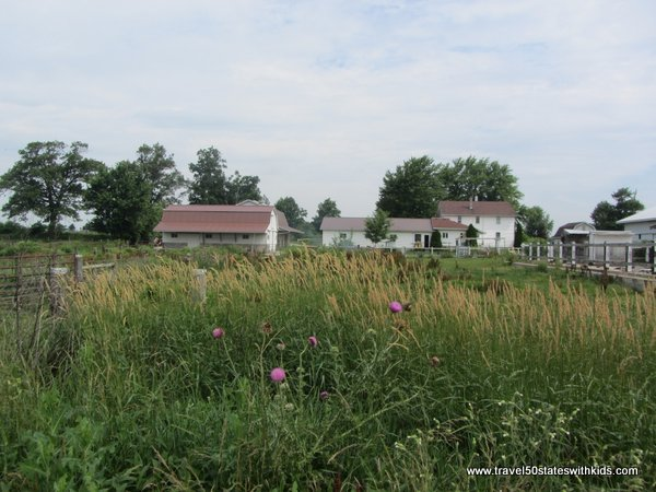 Amish Farm on bike trail