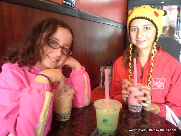 Bubble tea in Chinatown