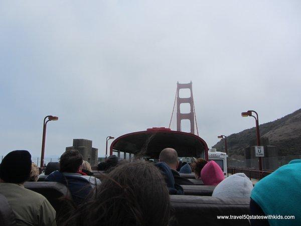 City Sightseeing San Francisco Bus Tour Golden Gate Bridge