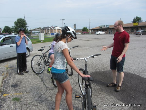 Getting set for Amish Country bike riding