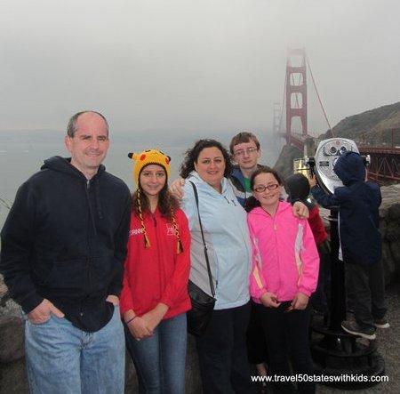 Golden Gate Bridge on CitySightseeing Tour