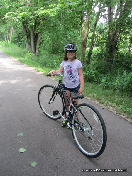 Kids on Amish Country Bike Ride
