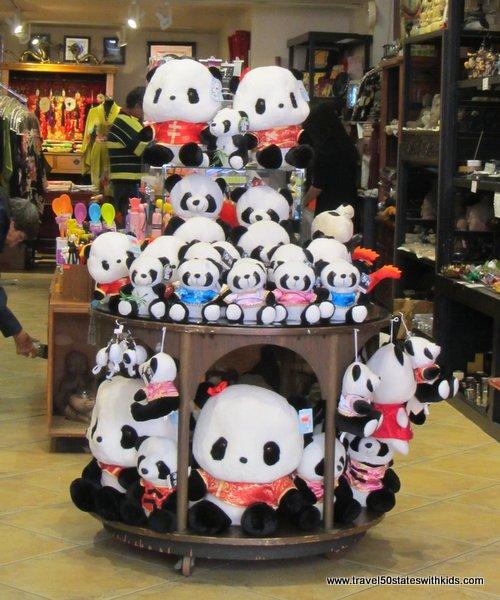 Pandas in Chinatown