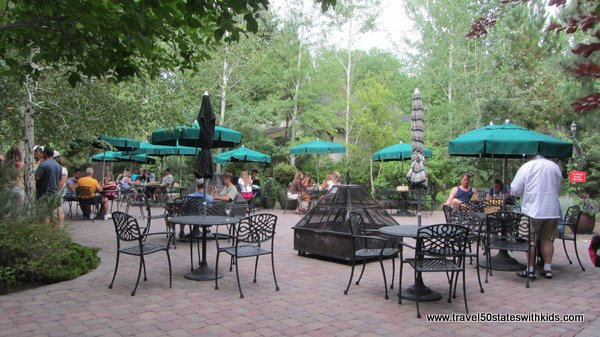 Patio Dining at McMenamins Old St. Francis School