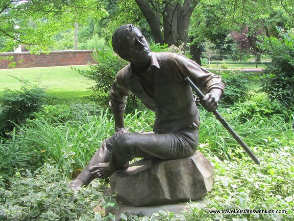 Stephen Foster statue at My Old Kentucky Home State Park