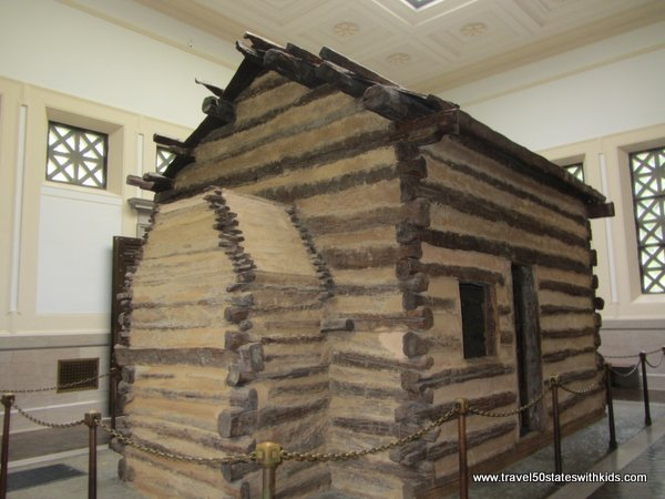 Symbolic Log Cabin - Lincoln Birthplace NHP