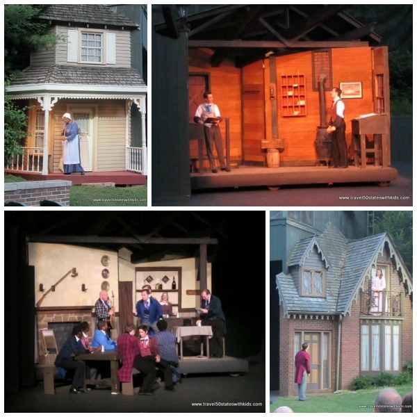 The Stephen Foster Story Collage