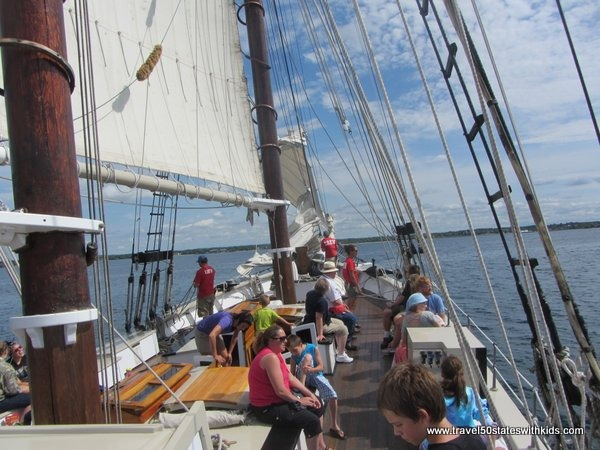 Aboard the Tall Ship Manitou