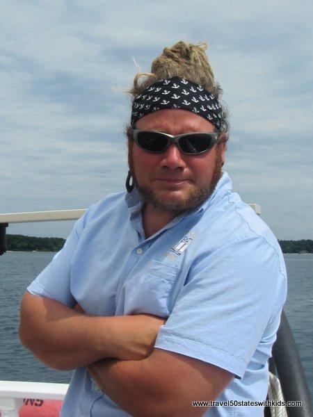 Captain Brendan - Tall Ship Manitou