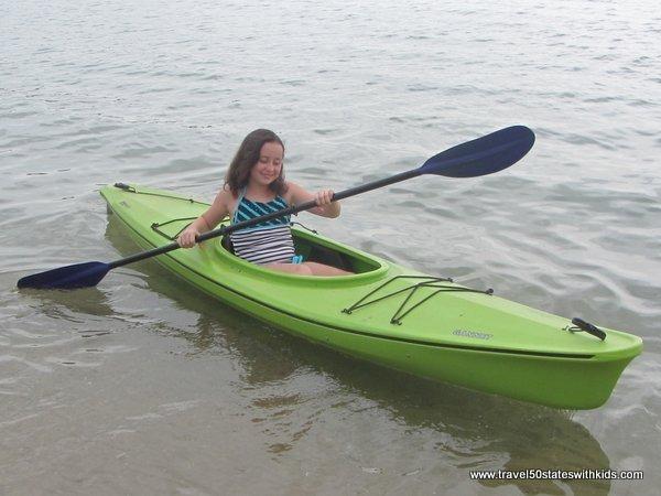 Kayaking in Traverse City