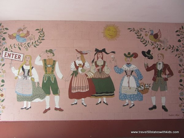 Mural at Hofsas House Hotel Carmel