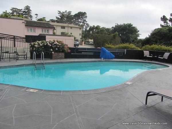 Outdoor pool at Hofsas House Hotel in Carmel