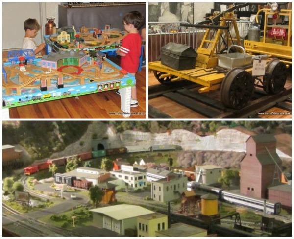 Kentucky Railway Museum - Museum Exhibits collage