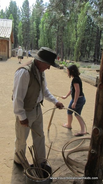Fun and games at the 1904 Miller Family Ranch - High Desert Museum
