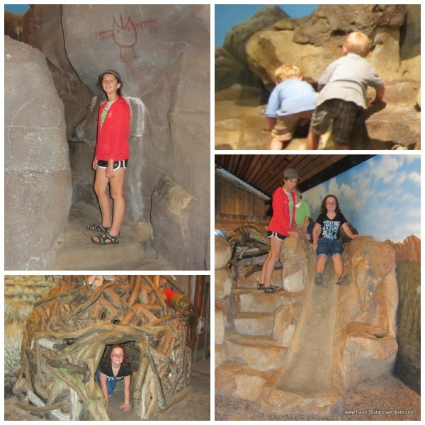 High Desert Museum Play Area Collage