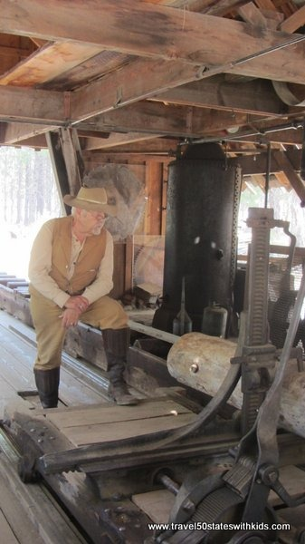 Sawmill - Living History at the High Desert Museum