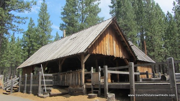 Sawmill at High Desert Museum