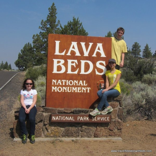 Lava Beds National Monument Sign