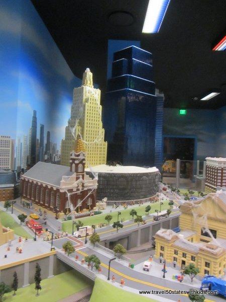 LEGO Model of Kansas City
