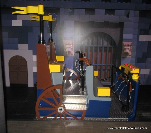 Ride at LEGOLAND Discovery Center