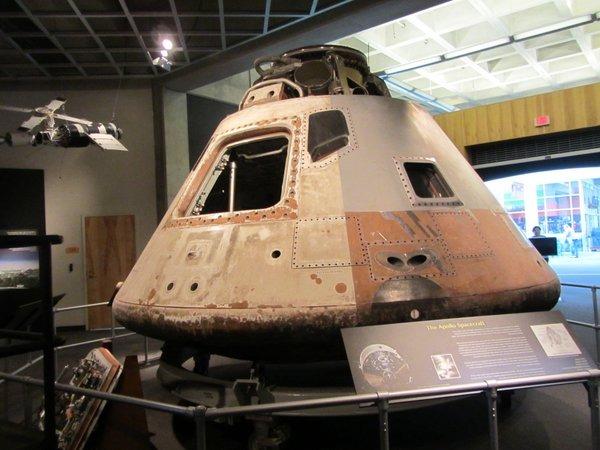 1973 Skylab 3 Apollo Comman Module - Great Lakes Science Center
