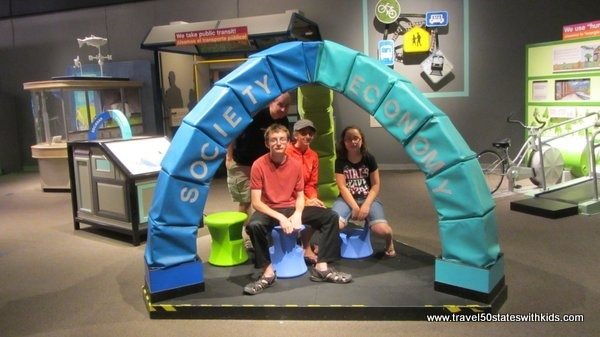 Building an arch at OMSI