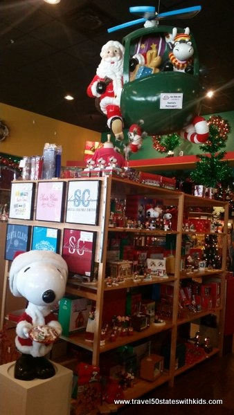 Christmas Store in Santa Claus, Indiana