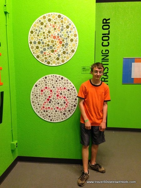 Color blindness test - Science Museum Oklahoma