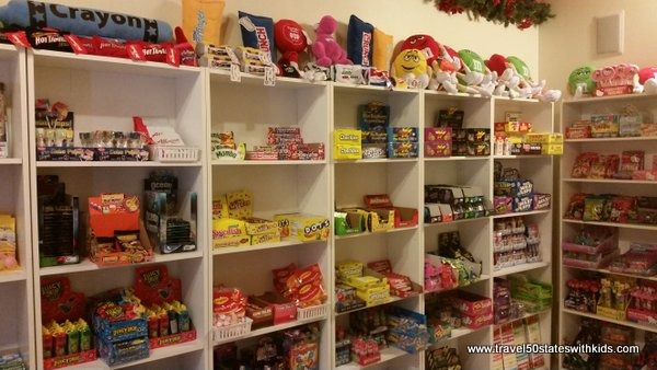 Cool Candy at Santas Candy Castle