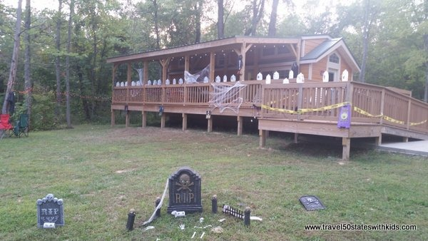 Halloween Cabin at Lake Rudolph