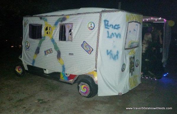 Hippie-mobile at Lake Rudolph