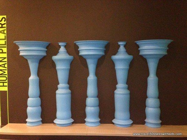 Human Pillars - Science Museum Oklahoma