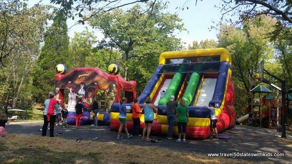 Inflatables - Halloween Weekends - Lake Rudolph