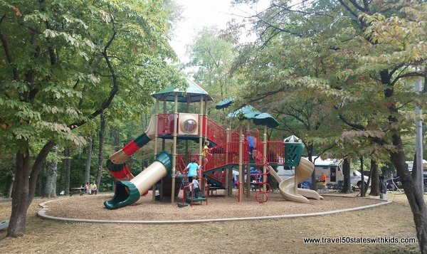 Lake Rudolph playground