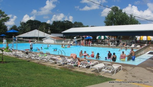 Leisure Pool Beech Bend Splash Lagoon