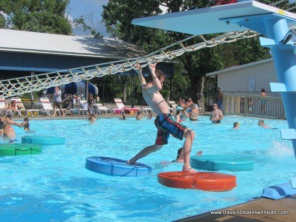 Lily pads Beech Bend Splash Lagoon
