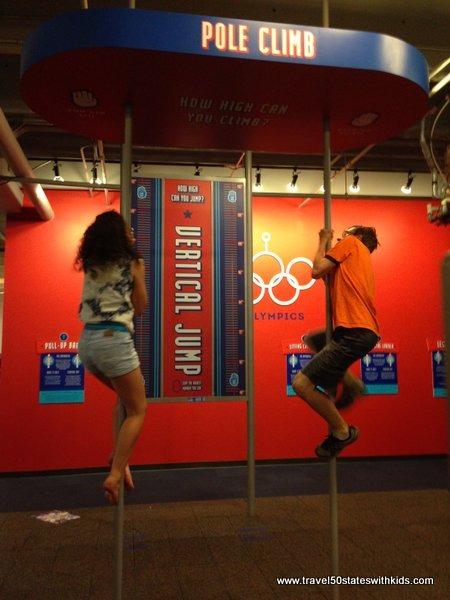 Pole Climb - Science Museum Oklahoma