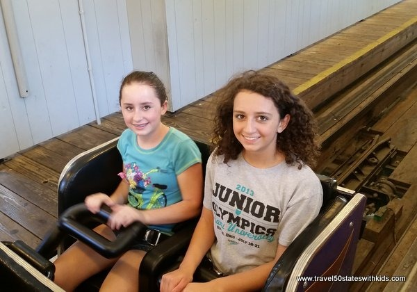 Roller coaster at Holiday World