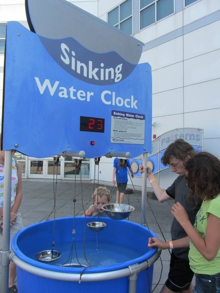 Sinking Water Clock - Great Lakes Science Center
